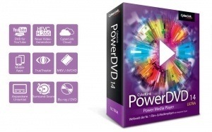 Power DVD 14 Ultra Mit 4K und HEVC Support