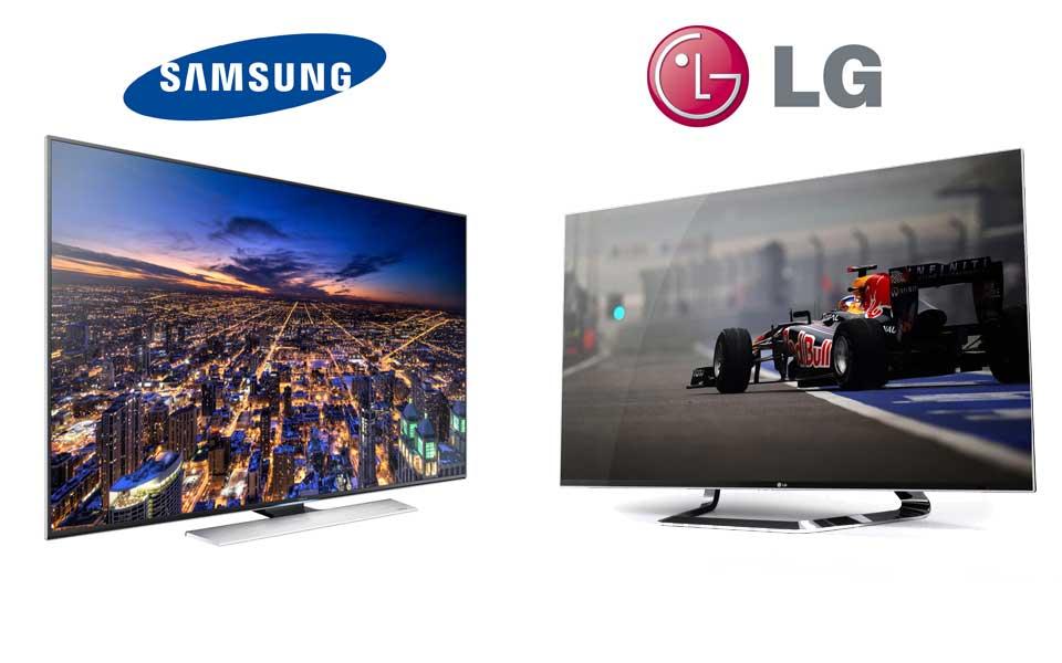 Preiskampf Samsung gegen LG