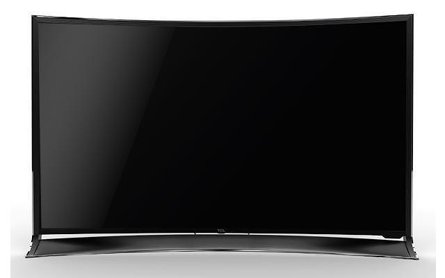 TCL Thomson curved Ultra HD TV mit 65 Zoll