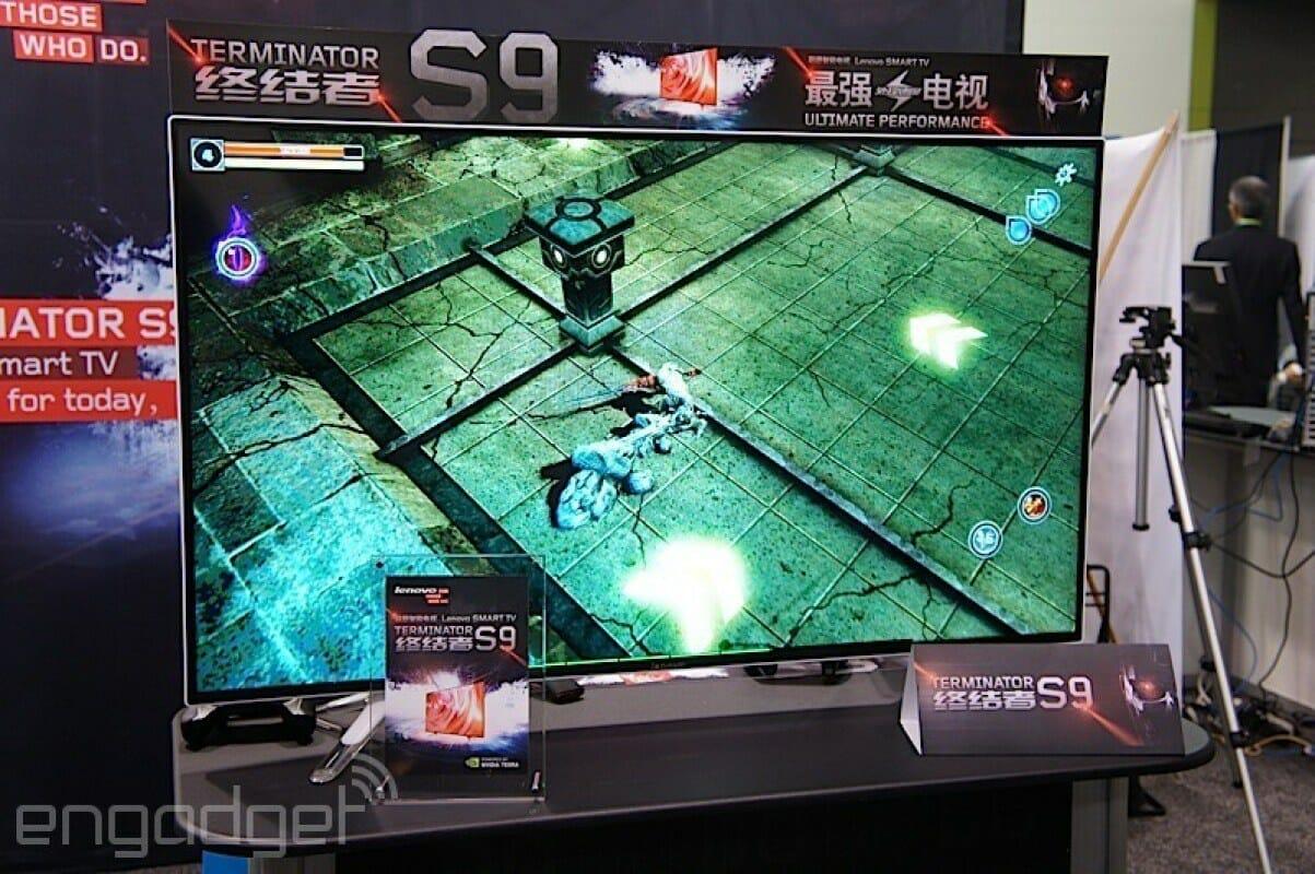 Gaming auf dem Terminator S9 mit Tegra K1 Smar Card