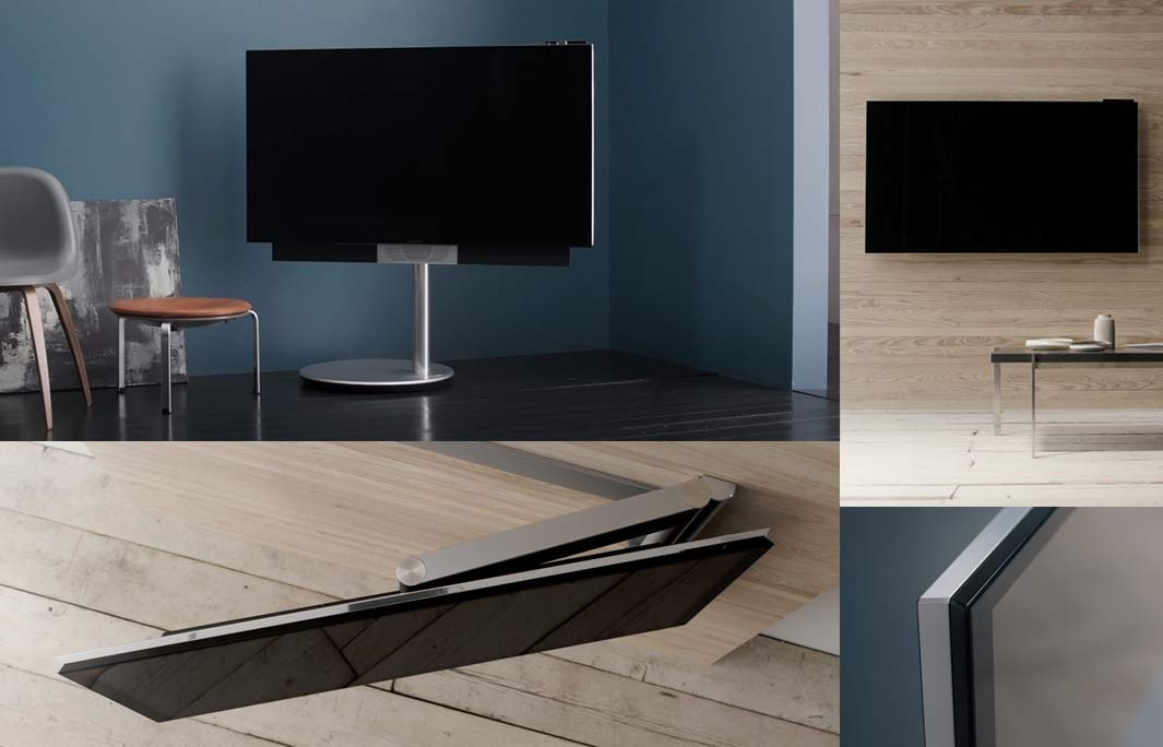 bang olufsen avant 55 zoll 4k fernseher mit drehbaren. Black Bedroom Furniture Sets. Home Design Ideas