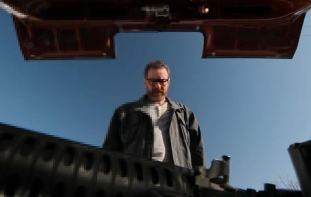 Walter White der Erfolgsserie Breaking Bad