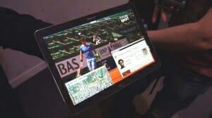 Samsung 4K Tablet streamt HEVC kodierte Inhalte