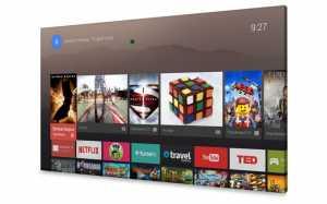 Google Android TV für Sony, Sharp und Philips