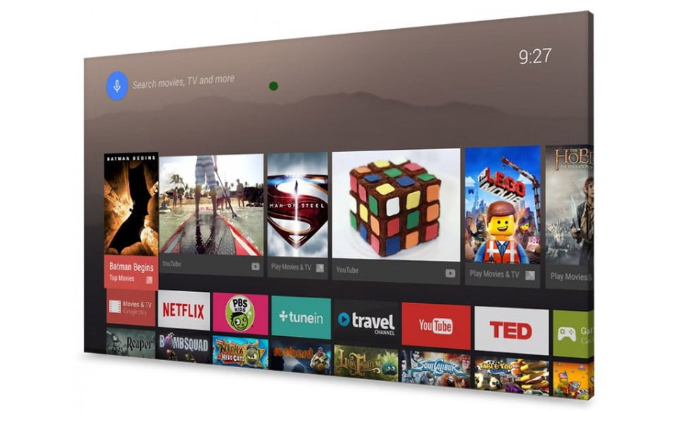 Google Android TV für Sony, Sharp und Philips