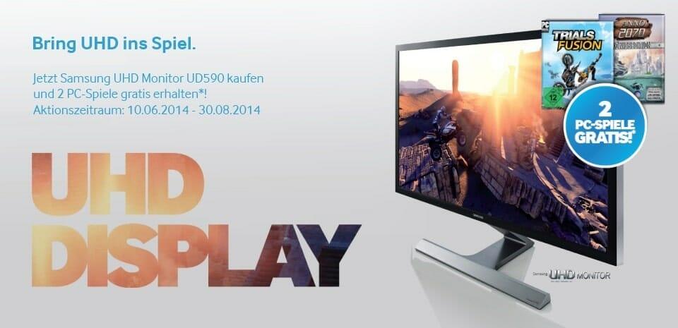 Verkaufsaktion Samsung U28D590D