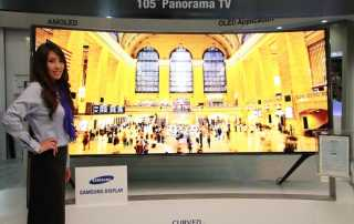 Samsung 105 Zoll AMOLED 4K Display