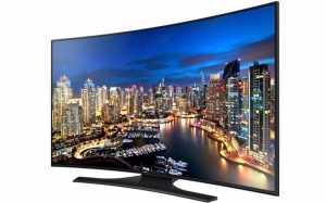 Samsung HU7250 curved 4K TV
