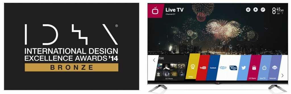 LG IDEA AWARD für webOS