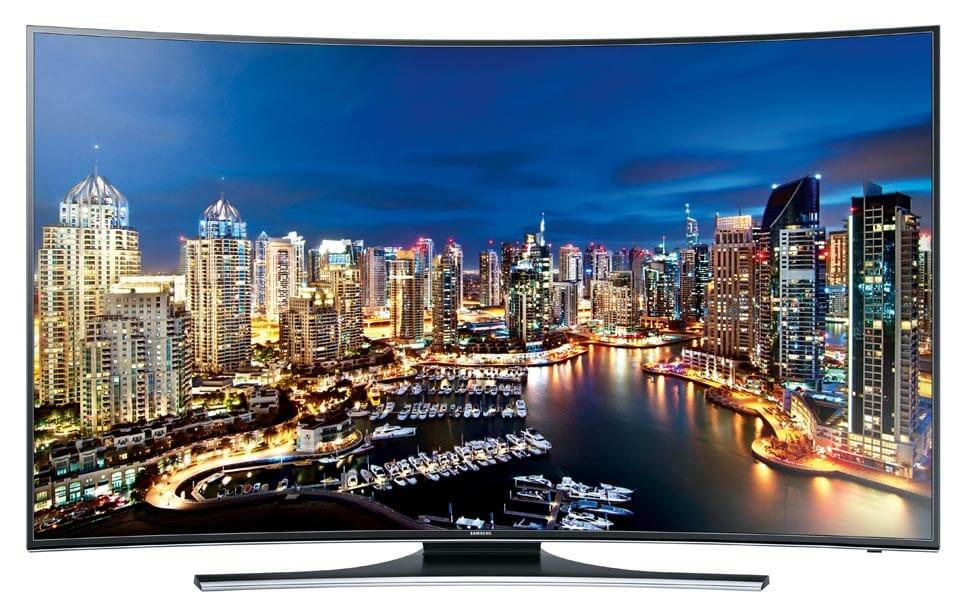 Samsung HU7200 curved 4K TV Frontansicht