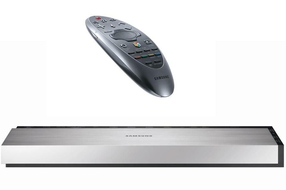 Samsung UE105S9W Ultra HD Fernseher mit curved Display im 21:9 Format