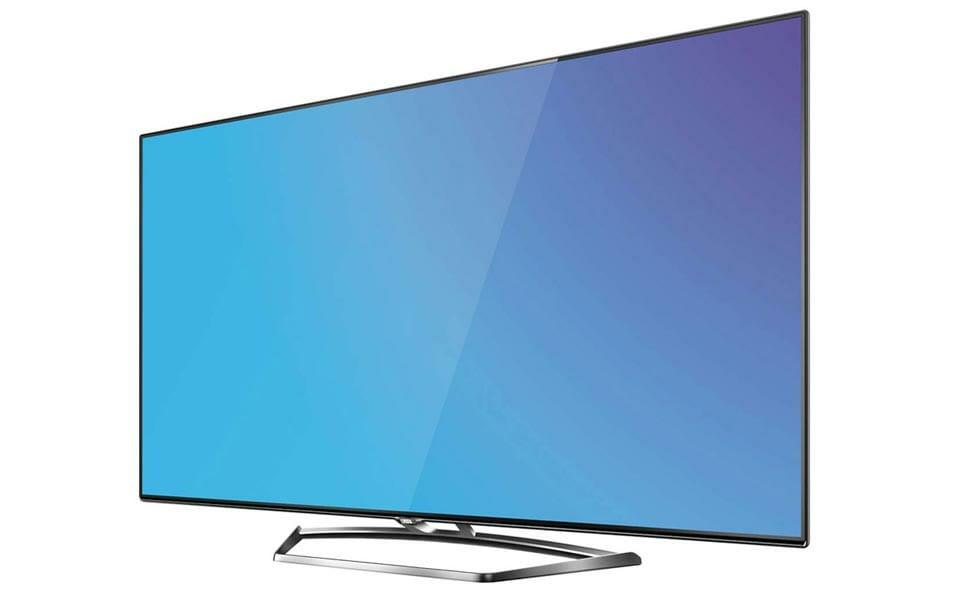 TCL 4K Fernseher U40S7606DS seitlich