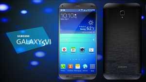 Samsung Galaxy S6 Mockup