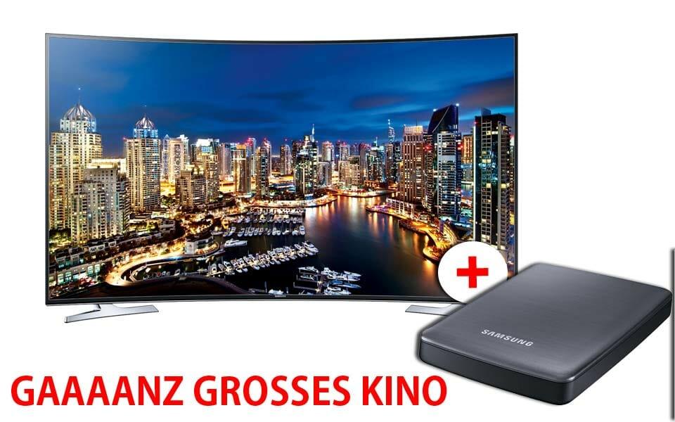 Gaaaanz großes Kino Verkaufsaktion von Samsung