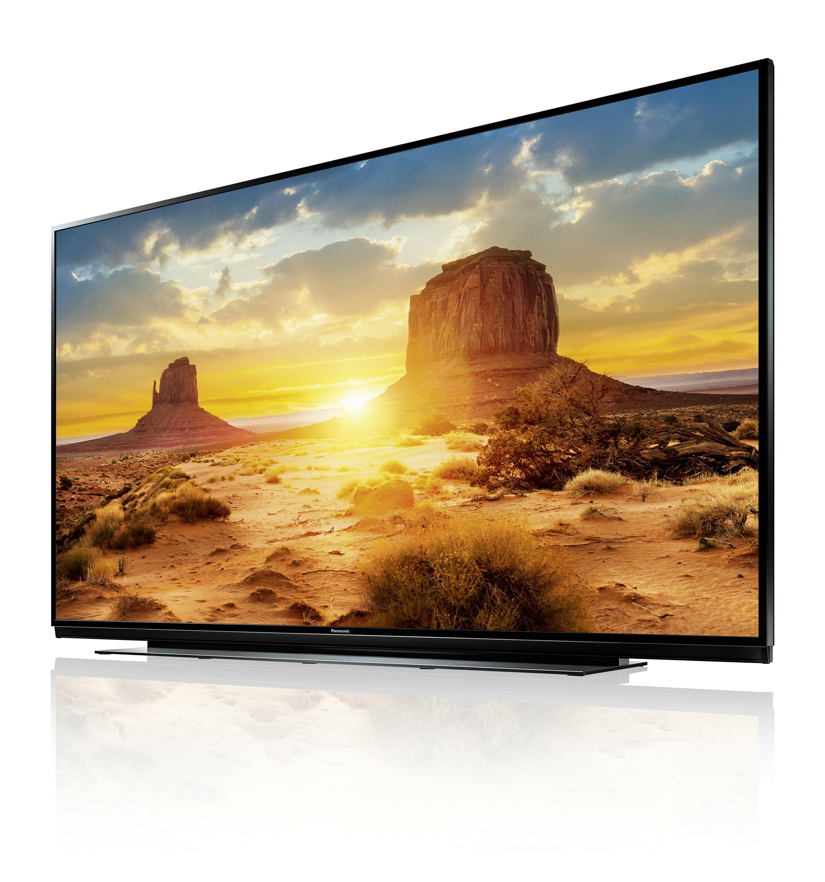 panasonic axw904 xw944 drei neue 4k tvs mit 55 65 und. Black Bedroom Furniture Sets. Home Design Ideas