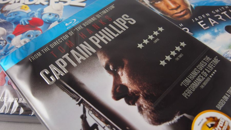 Captain Philips Blu Ray