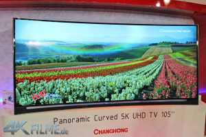 ChangHong 5K Cinemascope Curved TV