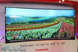 ChangHong 5K Cinemascope Curved TV