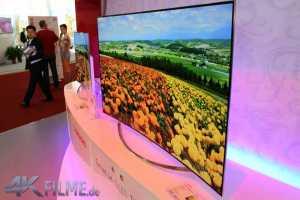 Curved OLED TVs von ChangHong mit Full-HD und 4K Auflösung