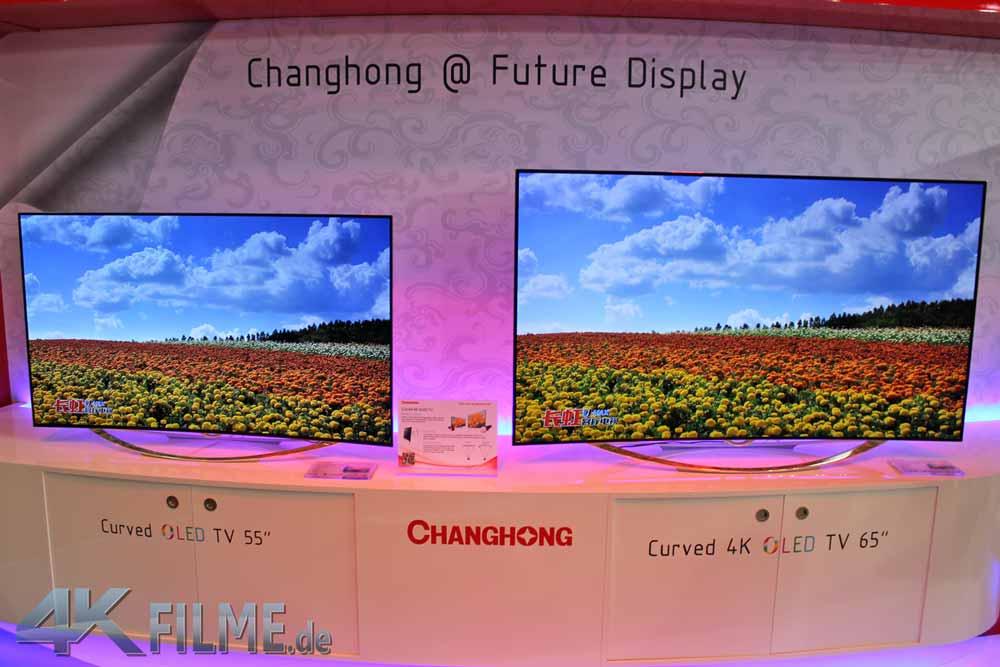 ifa 2014 changhong zeigt curved 5k 4k und oled tvs 4k filme. Black Bedroom Furniture Sets. Home Design Ideas