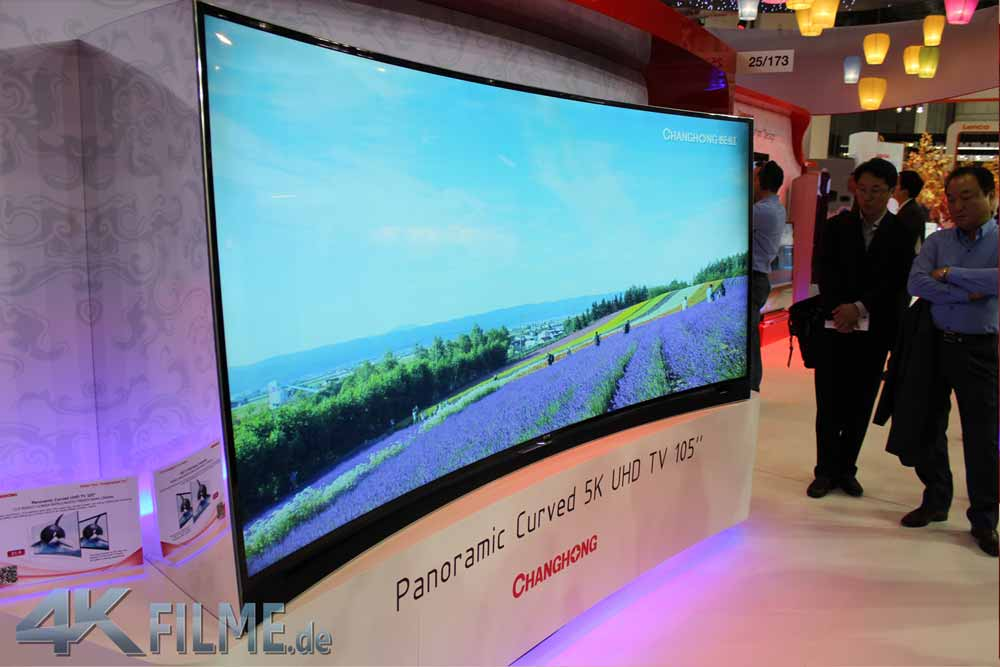 65Q1AHM Curved OLED 4K TV ChangHong