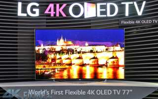 LG Bendable 4K OLED TV mit 77 Zoll