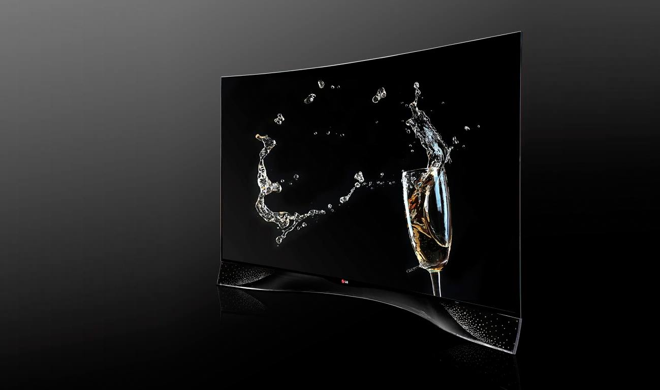 LG curved OLED TV - Luxus Edition