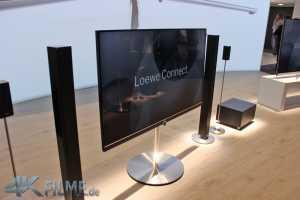 Loewe Connect mit hohem Standfuß Ultra HD TV