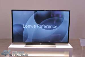Loewe Reference 4K TV Front