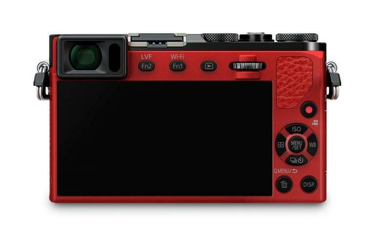 Panasonic LX100 Rückseite / Display
