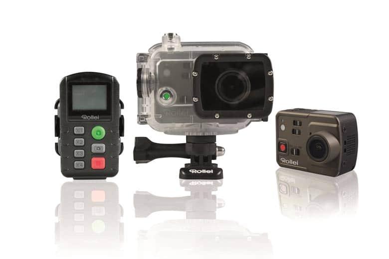 Rollei Actioncam 7S mit 4K Aufnahmefunktion
