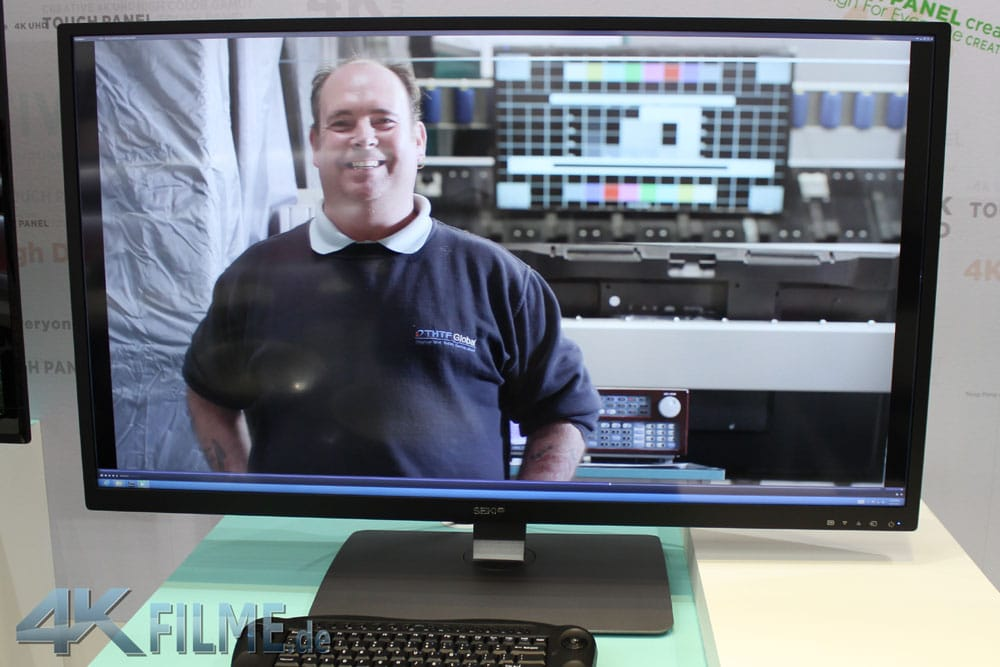Seiki Pro 40 Zoll 4K Monitor