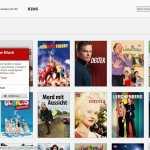Serienauswahl von Netflix Deutschland