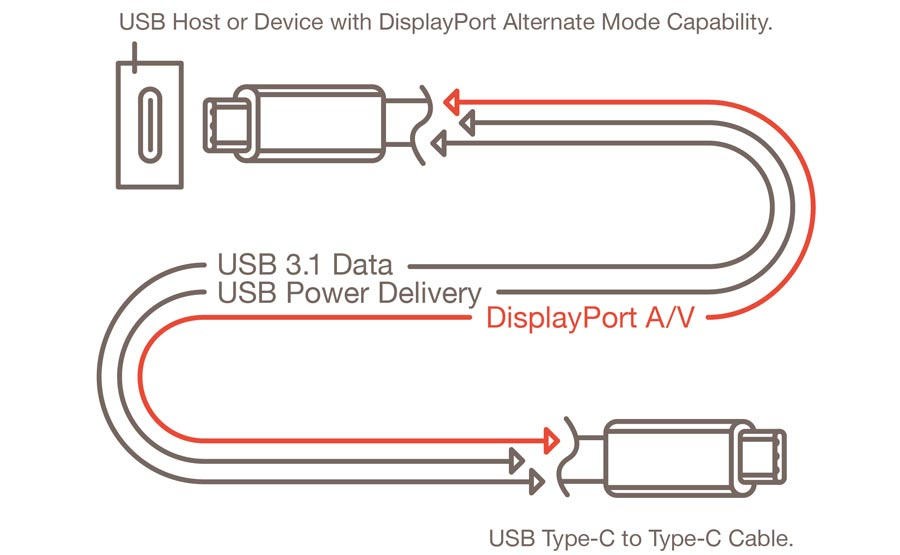 USB 3.1 Type-C DisplayPort Alt Mode