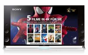 5 4K Filme für Sie - Sony 4K TV Aktion