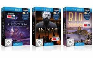 Blu-ray-Bundle inkl. 4K Material auf USB-Stick