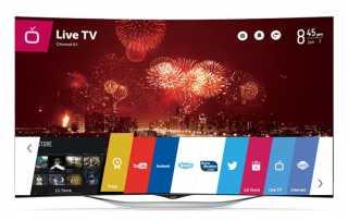 LG 55EC930V curved OLED TV