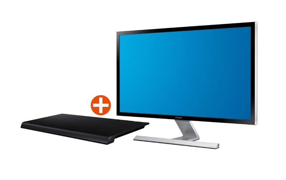 Samsung U28D590D Bundle inkl. HW-H600 Soundbar