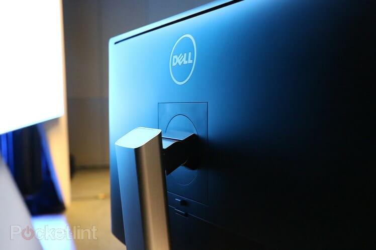 Dell UP2715K Rückseite