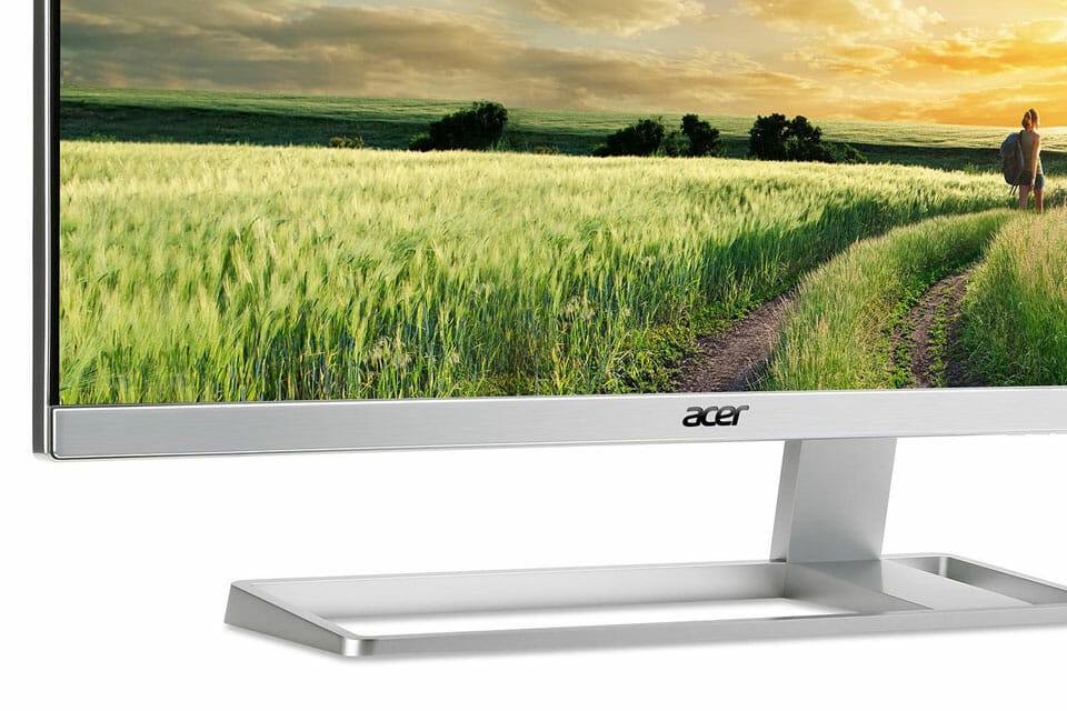 Acer S277HK 4K Monitor mit HDMI 2.0 Anschluss