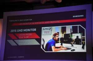 Für neue 4K Monitore von Samsung mit FreeSync