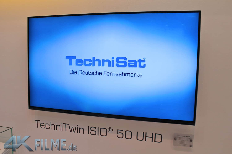 Technisat TechniTwin ISIO UHD 50 Zoll