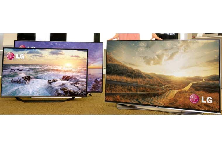 LG 4K Ultra HD TVs für 2015