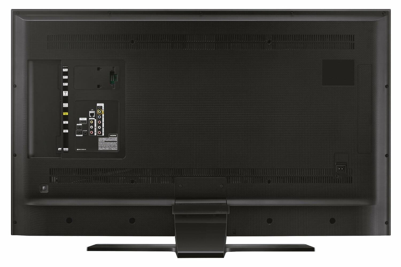 Samsung UE55HU6900 Rückseite mit allen Anschlüssen