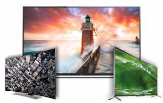 Sechs 4K Fernseher im Test