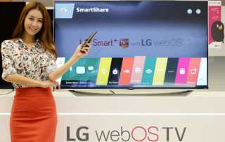 LG stellt webOS 2.0 erstmals auf der CES 2015 vor