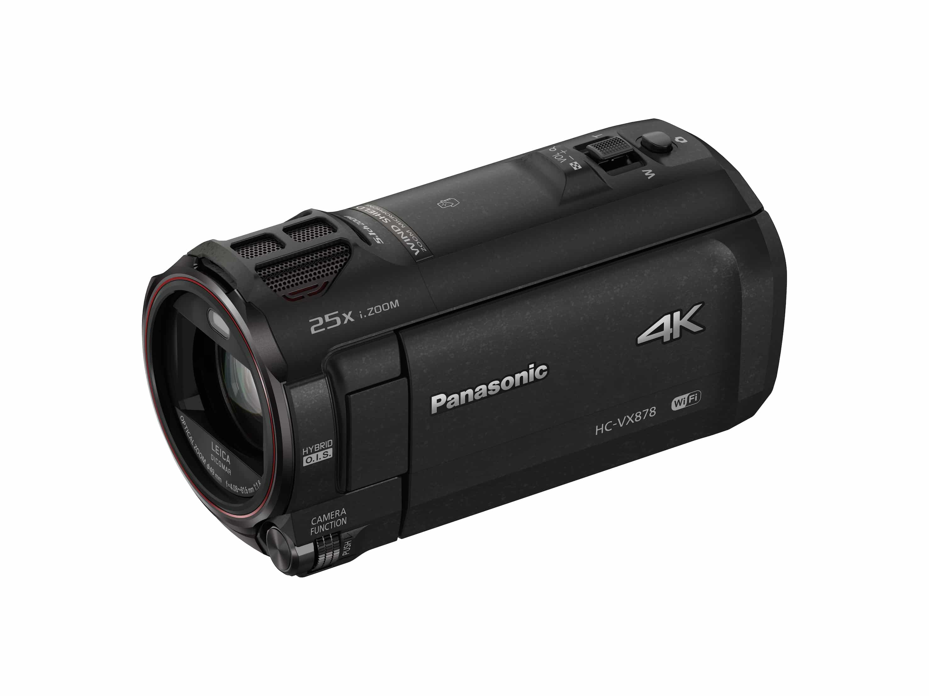 HC-WX979 4K Camcorder von Panasonic mit Twin-Camera