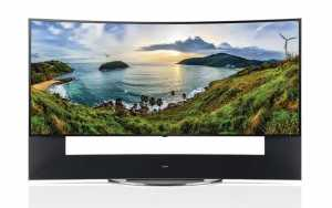 LG 105UC9 curved 5K TV im 21:9 Format