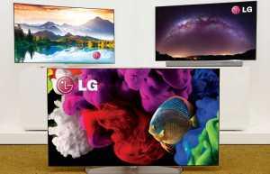 Alle LG 4K OLED TVs für 2015