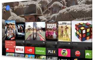Android TV läuft z.B. auf Geräten von Sony und Philips
